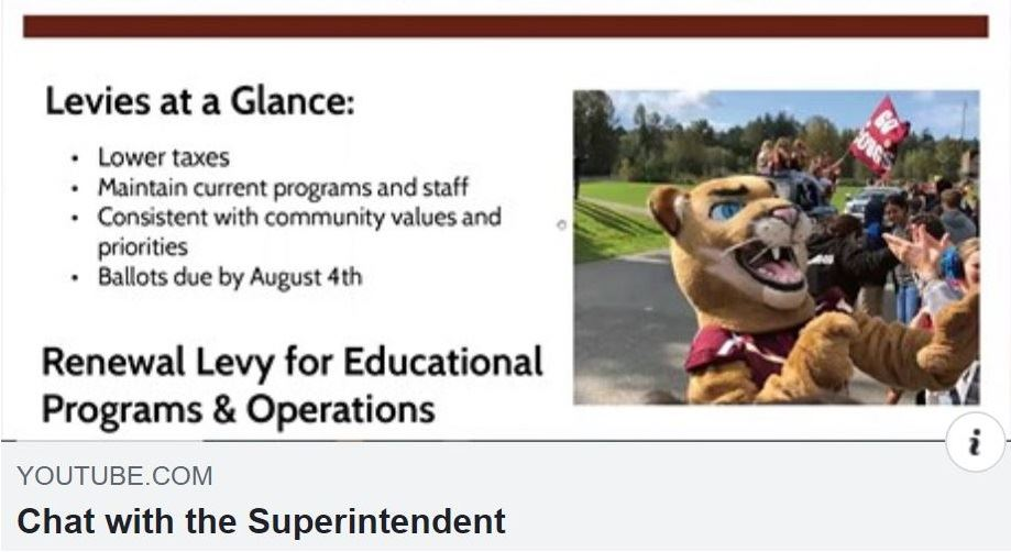 Chat with the Superintendent