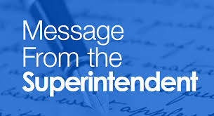 Welcome Back K-2 Message from Superintendent
